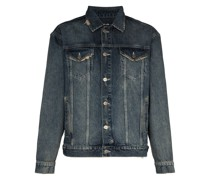 'Oh G' Distressed-Jeansjacke