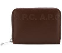 A.P.C. Geprägtes Portemonnaie