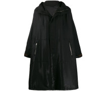 Oversized-Parka mit FF-Muster