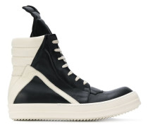 Perforirerte High-Top-Sneakers