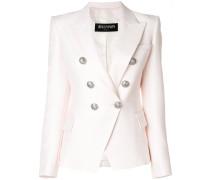 button-embellished blazer