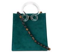 clear handle shoulder bag