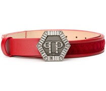 quilted detail belt