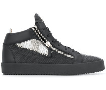 'Kriss' Sneakers in Metallic-Optik