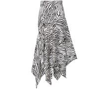 'Lonnie' Midikleid mit Zebra-Print