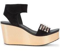 'Dinora' Wedge-Sandalen