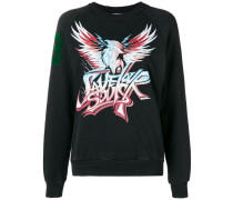 "Sweatshirt mit ""Save Our Souls""-Print"