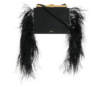 embellished satchel bag
