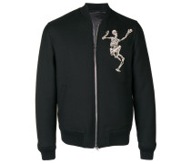 'Dancing Skeleton' Bomberjacke