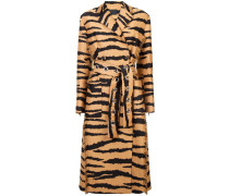 Mantel mit Tigermuster