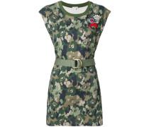 floral camo dress