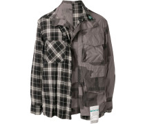 Military-Jacke im Deconstructed-Look
