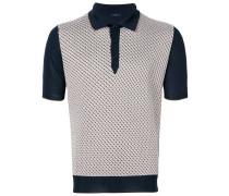 geometric polo shirt