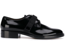 Derby-Schuhe in Vinyl-Optik