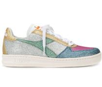 Sneakers im Glitter-Look
