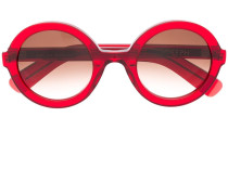 'Brook' Sonnenbrille mit runden Gläsern