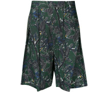 Dry Leaf tuck shorts