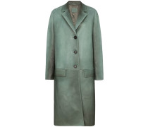 Mantel aus Nappaleder