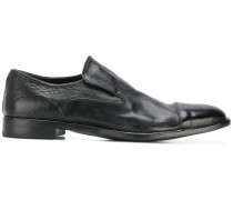 slip-on panelled loafers