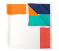 Seidenschal in Colour-Block-Optik
