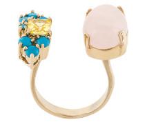 Elegua rose quartz ring