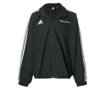 x Adidas logo zipped track jacket