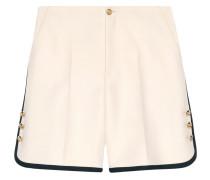 Shorts aus Woll-Seidengemisch
