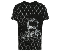 "T-Shirt mit ""Broken Fence""-Print"
