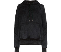 washed cotton hoodie