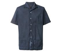 Kurzärmeliges Hemd mit Brusttasche