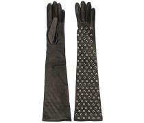 Handschuhe mit Ösen
