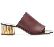 block heel mules