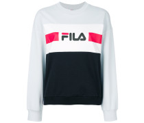 logo colour-block sweatshirt