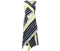 criss-cross draped dress