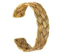 18kt vergoldete 'Braided' Armspange
