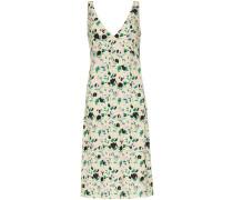 Camisole-Kleid mit Blumen-Print