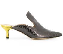LEDA13WIPS C. FUCILE/GIALLO Leather/Fur/Exotic Skins->Leather
