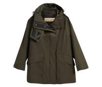 Hooded Parka with Quilted Lining