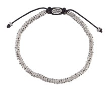 'Mini Fish Bone' Armband im Metallic-Look