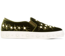 'Cosmic Pearls' Slip-On-Sneakers