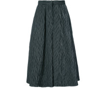 flared culotte trousers