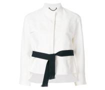 layered cropped jacket