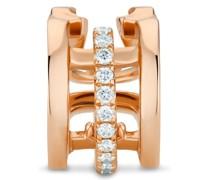 'Horizon' Ear Cuff aus 18kt Rotgold mit Diamanten