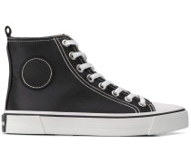 High-Top-Sneakers in Satin-Optik
