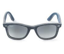 'Wayfarer'-Jeans-Sonnenbrille