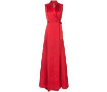 waist-tied maxi dress