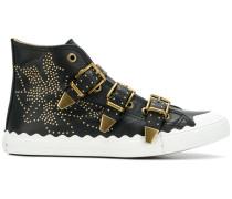 'Kyle' Sneakers mit Schnallen