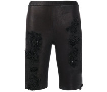 Radshorts in Distressed-Optik
