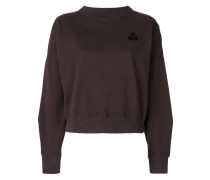 Klassisches Cropped-Sweatshirt