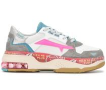 Plateau-Sneakers in Colour-Block-Optik